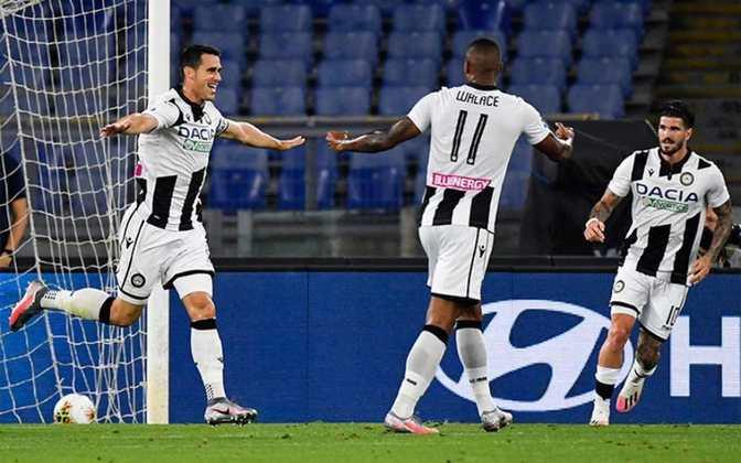 FECHADO - O Hellas Verona fechou a contratação do atacante Kevin Lasagna, ex-Udinese. O transferência é um empréstimo até junho com obrigação de compra na janela de verão.