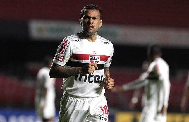 FECHADO - O lateral direito Daniel Alves teve sua rescisão de contrato publicada no BID (Boletim Informativo Diário) da CBF nesta terça-feira (21). Com isso, o vínculo está oficialmente terminado e Dani deixa de ser jogador do São Paulo.