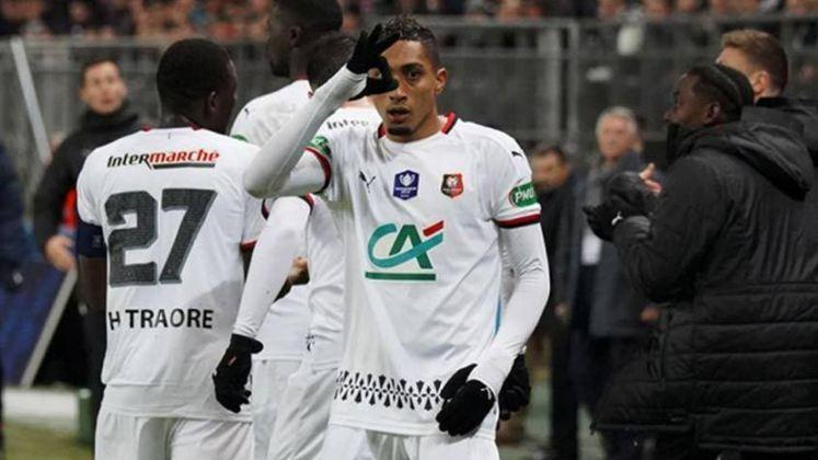 FECHADO - O Leeds acertou a contratação do ponta brasileiro, Raphiha, que estava no Rennes.