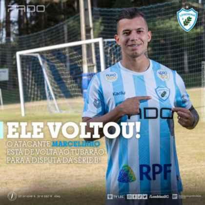 FECHADO - O meia-atacante Marcelinho, que retornou ao Londrina, falou sobre sua expectativa para esse segundo semestre no clube paranaense. Segundo o jogador, que já defendeu a agremiação há alguns anos, sua meta é fazer um ano perfeito com todos no elenco.