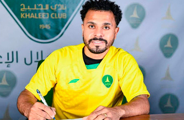 FECHADO - O meia Diego Miranda é o mais novo reforço do Al-Khaleej, da Arábia Saudita. Desde 2019 atuando no país, o jogador trocou sua ex-equipe, o Al-Jabalain, pelo novo clube, após realizar grande campanha na temporada 2020/2021.