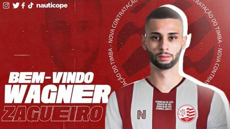 FECHADO - O Náutico anunciou a contratação do zagueiro Wagner Leonardo, de 21 anos, por empréstimo ao Santos até o final da temporada.
