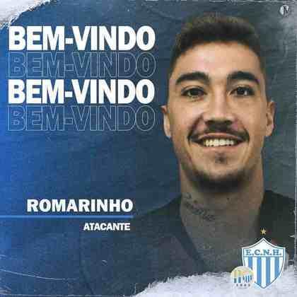FECHADO - O Novo Hamburgo fechou a contratação do atacante, Romarinho, filho do lendário centroavante da Seleção Brasileira, Romário.