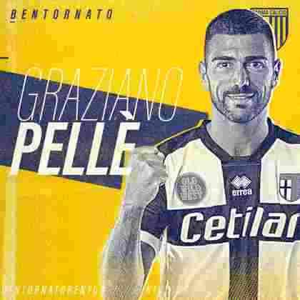 FECHADO - O Parma fechou a contratação do atacante Graziano Pellé para reforçar o time na próxima temporada. O último clube que o atacante defendeu foi o Shandong Luneng, da China.