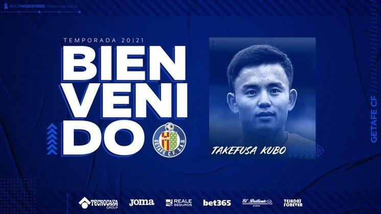 FECHADO - O Real Madrid fechou o empréstimo do japonês Takefusa Kubo ao Getafe até o final da temporada.
