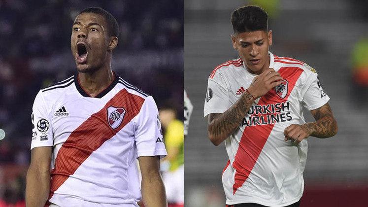FECHADO - O River Plate postou que acertou uma extensão de contato Nicolás De La Cruz e Jorge Carrascal. Para De La Cruz, a renovação será até dezembro de 2022, enquanto para o colombiano será até dezembro também, porém de 2024.