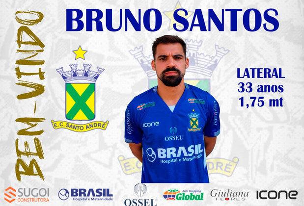 FECHADO - O Santo André-SP anunciou na manhã desta terça-feira (2), a contratação do lateral-esquerdo Bruno Santos, que estava no Brasil-RS na última temporada.