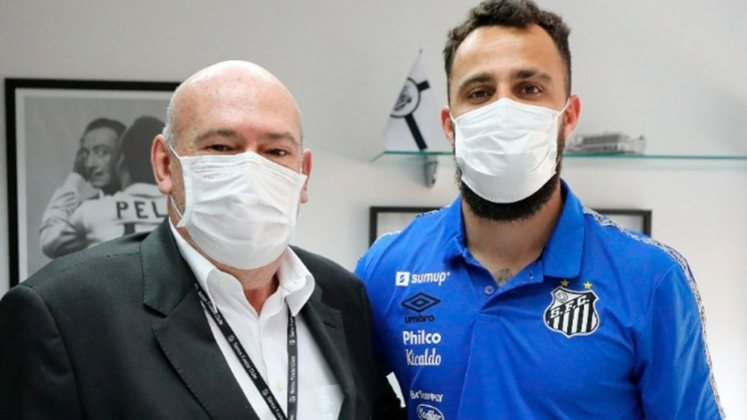 FECHADO - O Santos anunciou a contratação do goleiro Jandrei na tarde desta quarta-feira (25). O contrato do atleta é válido até o final do Campeonato Paulista de 2022. Ele falou sobre o novo desafio com a camisa do Peixe e a concorrência na meta santista.