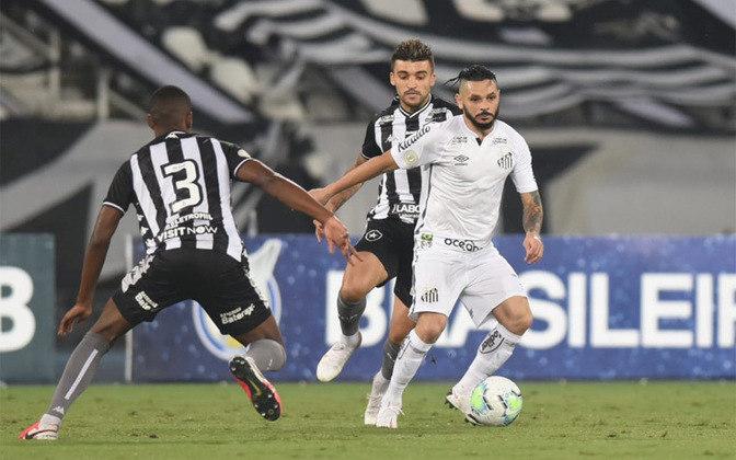 FECHADO - O Santos anunciou a renovação contratual do lateral-direito Pará. O vínculo do defensor se encerraria no fim desta temporada e foi estendido até dezembro de 2022.