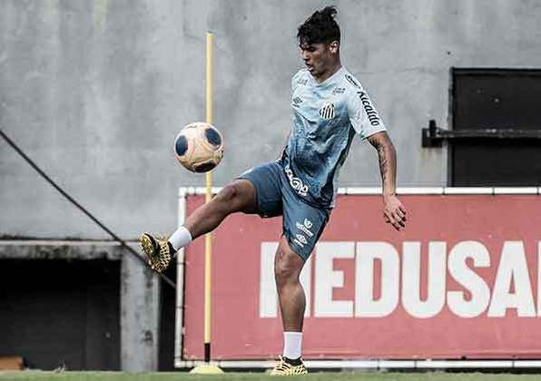 FECHADO - O Santos anunciou a renovação de contrato com o lateral-direito Cadu, uma das principais revelações das categorias de base do clube, até 29 de setembro de 2023.