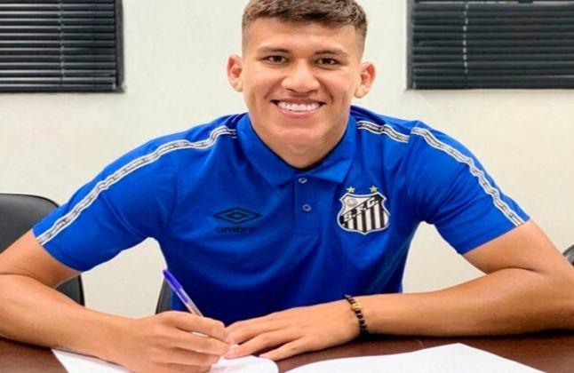 FECHADO - O Santos contratou o zagueiro boliviano Leonardo Zabala, de 18 anos, para a categoria Sub-20. Ele estava no Palmeiras e pediu a rescisão com o rival para fechar com o Peixe. O jogador assinou um contrato até o final de 2020 com o clube da Vila Belmiro.