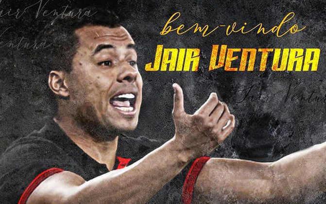FECHADO - O Sport anunciou em suas redes sociais a chegada do técnico Jair Ventura, que estava sem clube desde sua saída do Corinthians, em 2018.