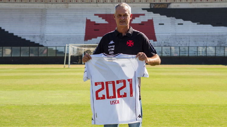 FECHADO -  O técnico Lisca, de 48 anos, foi apresentado como novo treinador do Vasco na manhã desta sexta-feira. Entre promessas de trabalho intenso e convocação de união entre clube e torcida, ele brincou com o apelido de