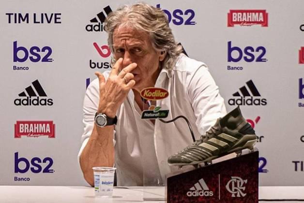 FECHADO - O técnico português Jorge Jesus acertou a renovação com o Flamengo. Agora, o novo vínculo do treinador irá até junho de 2021.