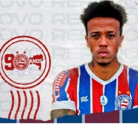 FECHADO - O terça-feira começou com notícia positiva ao torcedor do Bahia. Através das redes sociais, o Tricolor confirmou a chegada do volante Luizão. Aos 23 anos, ele estava no Vorskla Poltava-UCR e assinou com o Esquadrão de Aço até a temporada 2022.