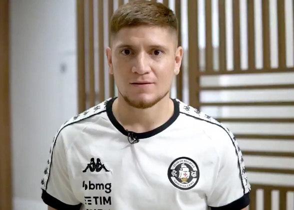 FECHADO - O Vasco anunciou a contratação por empréstimo do argentino Leonardo Gil, de 29 anos, que pertence ao Al-Ittihad. O meio-campista assinou contrato até junho de 2021, com opção de compra, e será o terceiro