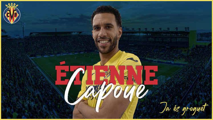 FECHADO - O Villarreal fechou a contratação do volante Étienne Capoue, ex-Watford, até junho de 2023.