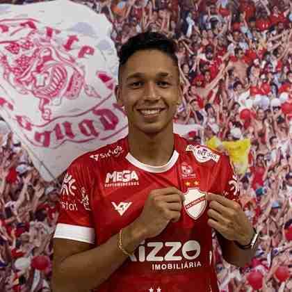 FECHADO - O volante Felipe Trindade, de 20 anos, é a nova contratação do Vila Nova para a temporada. O jogador estava disputando o campeonato nacional de Portugal, pelo Pinhalnovense