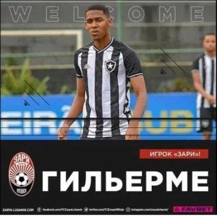 FECHADO - O Zorya, da Ucrânia, contratou a revelação do Botafogo, Guilherme Smith.