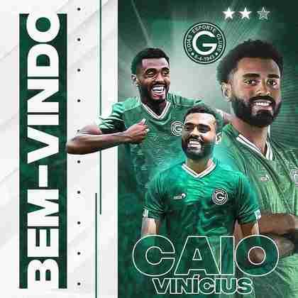 FECHADO - Pensando na Série B 2021, o Goiás anunciou mais um reforço e oficializou a chegada de Caio Vinícius, ex-Fluminense e que chega por empréstimo.