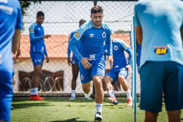 FECHADO - Se por um lado o Grêmio se despediu de Everton Cebolinha, por outro apresentou o meia Robinho, que estava livre no mercado após a saída do Cruzeiro.Contente pela oportunidade, o meio-campista concedeu a sua primeira coletiva, vestiu a camisa Tricolor e mostrou muita vontade de brigar pela posição no time titular.