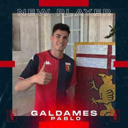 FECHADO - Sem contrato desde que deixou o Vélez Sarfield, Pablo Galdames foi anunciado pelo Genoa como a nova contratação do clube italiano.