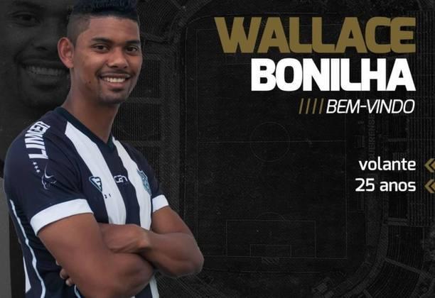 FECHADO - Sendo uma das equipes que mais tem aproveitado a atual janela de transferências por novas alternativas para o elenco, o Figueirense anunciou a chegada de mais um reforço, esse para o sistema de meio-campo: Wallace Bonilha.