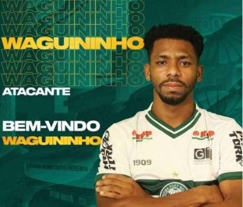 FECHADO - Titular do Guarani em 2020, o atacante Waguininho, com passagem pelo futebol coreano, assinou com o Coritiba para a temporada 2021. Feliz com a oportunidade de defender as cores do Coxa nesta temporada, o jogador projetou fazer uma história de títulos e grandes apresentações no clube.
