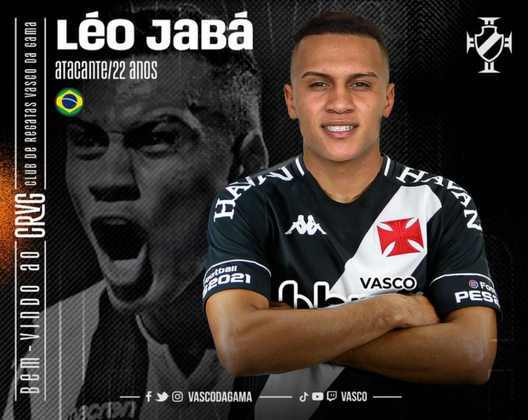FECHADO - Um dia após conquistar a sua primeira vitória no Carioca, o Vasco anunciou mais uma contratação para a temporada. Trata-se do atacante Léo Jabá, que pertence ao PAOK, da Grécia, e chega ao Cruz-Maltino por empréstimo até o final deste ano. No texto de anúncio, divulgado no site do clube carioca, é citado que o vínculo, apesar de ser por empréstimo, será por produtividade.