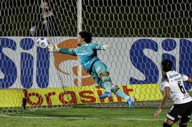 FECHADO - Um dos destaques do Ceará, o goleiro Richard bateu o martelo e sacramentou a renovação do seu contrato com o Vozão, que agora vai até 2024. Contratado na temporada passada, o arqueiro tomou a posição de Fernando Prass em 2020 e ganhou a confiança do técnico Guto Ferreira.