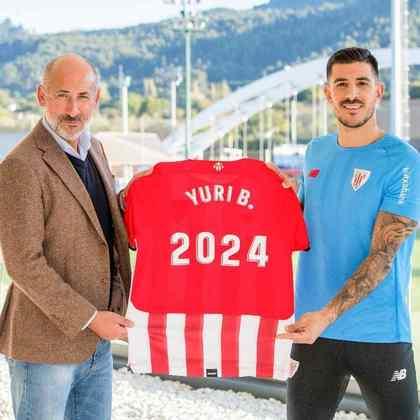 FECHADO - Yuri Berchiche renovou o seu contrato com o Athletic Bilbao até o final da temporada 2023/24.