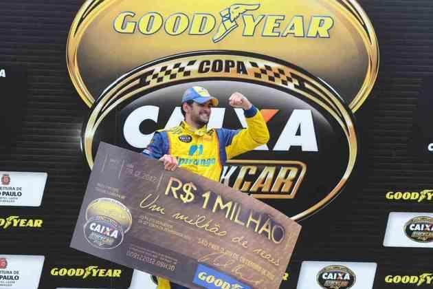 Fechando a temporada 2012, Thiago Camilo repetiu a dose e venceu a segunda Corrida do Milhão consecutiva