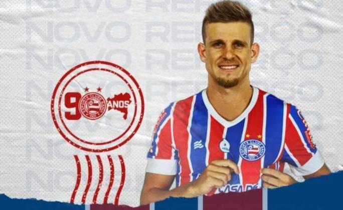 FECHOU - O Bahia anunciou a chegada de mais um nome para o sistema de meio-campo, Matheus Galdezani. O atleta de 29 anos de idade segue ligado ao Coritiba, estando no Esquadrão até o final de 2021 em regime de empréstimo.