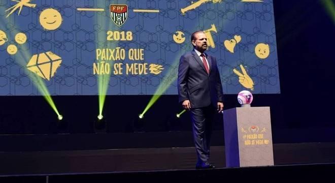 A festa da Federação Paulista em 2018 foi constrangedora. Sem o vice Palmeiras