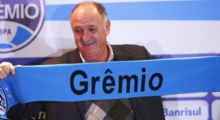 Felipão, 72 anos. Pela quarta vez volta ao Grêmio. O técnico mais velho do Brasileiro
