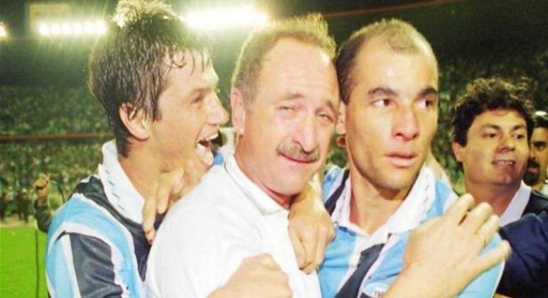Felipão montou um excelente time na década 90. Campeão da Libertadores em 1995