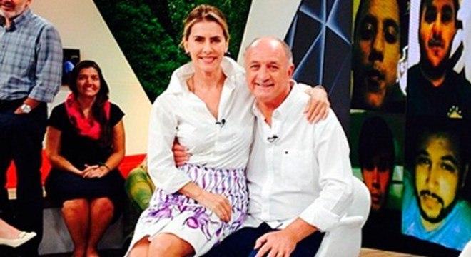 Depois de quatro anos, a Globo volta a agradar Felipão. Quer as pazes com Galvão