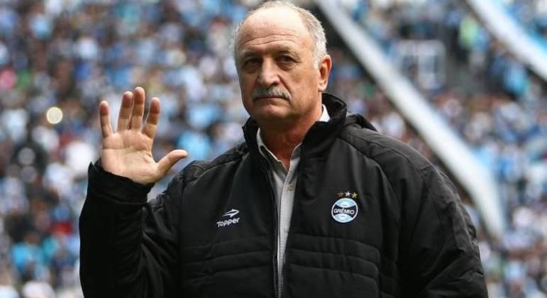 Campanha lastimável de Felipão na sua quarta e última passagem pelo Grêmio. Penúltimo no Brasileiro