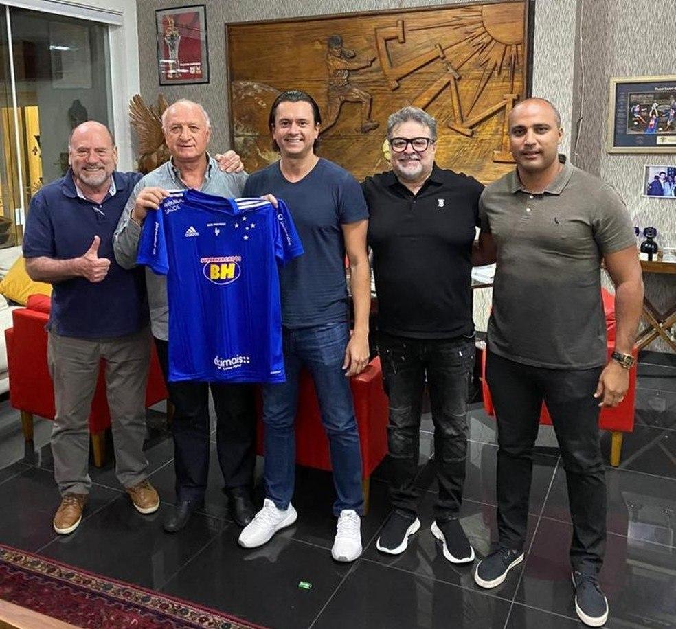 Luiz Felipe Scolari. Pentacampeão mundial assume penúltimo na Segunda Divisão