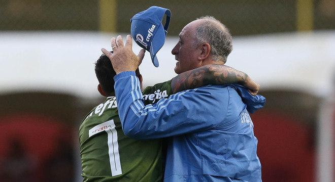 Dudu nunca jogou tanto no Palmeiras quanto depois da chegada de Felipão