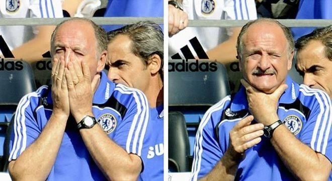 Felipão foi o último treinador do Brasil a assumir um grande europeu. Há 11 anos