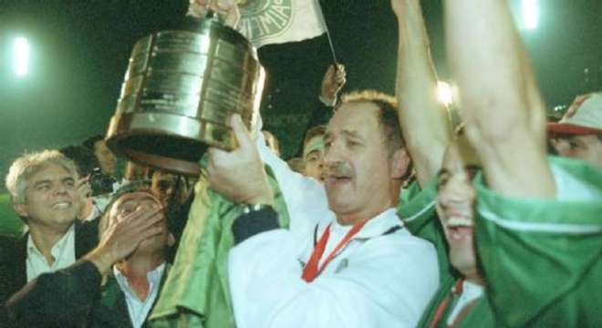 Felipão, o campeão da Libertadores em 1999