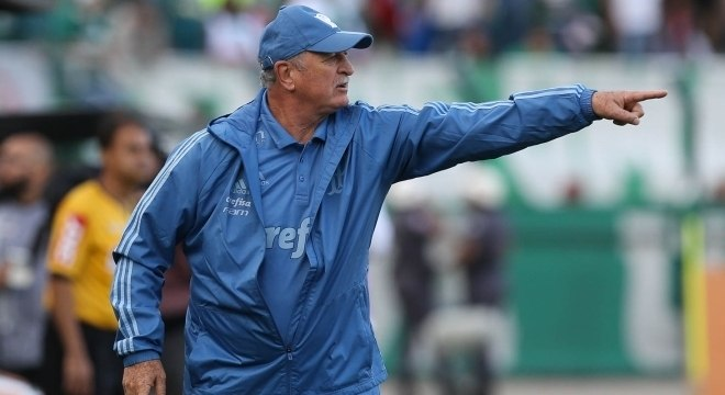 Felipão está invicto com o Palmeiras no Brasileirão