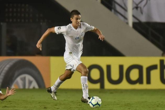 Felipe Aguilar - O jogador que foi contratado pelo Santos no início de 2019, por R$ 15 milhões de reais, foi negociado pelo Athlético-PR por R$ 10 milhões, válido por 50% dos seus direitos.