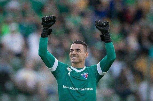 Felipe Alves - O goleiro hoje defende o Fortaleza, onde é titular