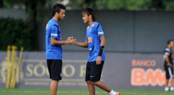 Felipe Anderson e Neymar