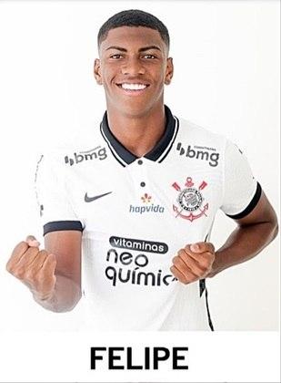 Felipe Augusto - 17 anos - Ainda não jogou pelo Paulistão