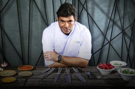 O chef  e apresentador Felipe Bronze