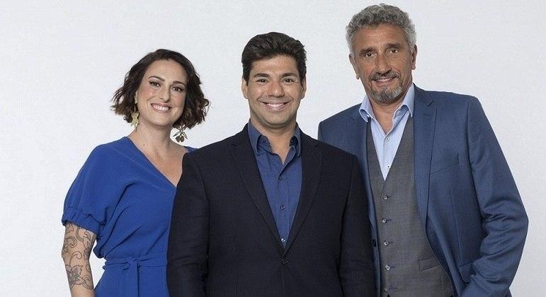 """Felipe Bronze, entre Ailin Aleixo e Emmanuel Bassoleil, prepara-se para mais um """"Top Chef Brasil"""""""