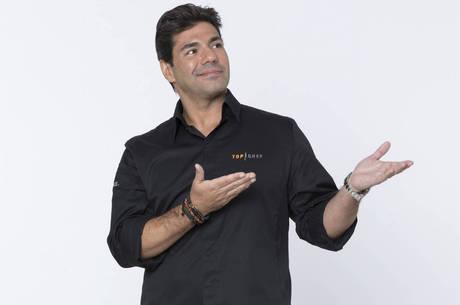 Felipe Bronze é quem comanda o Top Chef Brasil